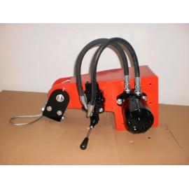 Hydraulische Seilwinde mit manuelle Ventil